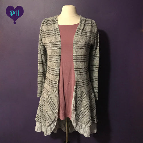 Striped Cardigan | Plum Hanger