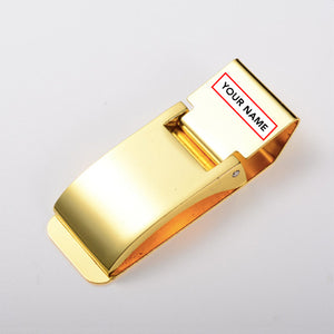 Personal Money Clip Gold