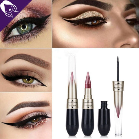 eyeshadow eyeliner