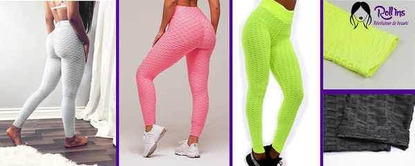 leggings anti-cellulite Roll'shape de Roll'ins capitons brûle graisses