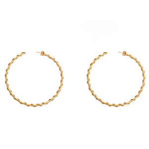 Gitana Giant Hoops