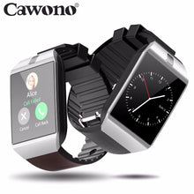 Load image into Gallery viewer, Cawono Bluetooth Smart Watch Smartwatch DZ09 Android Phone Call Relogio 2G GSM SIM TF Card Camera for iPhone Android VS A1 GT08