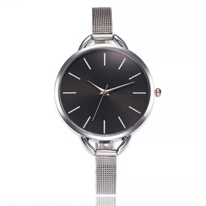 Vansvar  Watches Woman Fashion  Casual  Creative  Quartz  Wristwatches Stainless Steel  Strap Glass Montre Femme  Watch  18MAR28