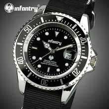 Load image into Gallery viewer, INFANTRY Mens Watches Top Brand Luxury Military Watch Men Luminous Army Tactical Nato Strap Watches for Men Relogio Masculino