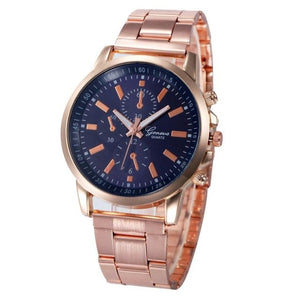 Quartz Wristwatch  Reloj Mujer   Luxury Fashion Hour Watch Rose Gold  Stainless Steel Sport   Clock Women Watches 18APR26