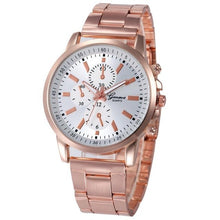 Load image into Gallery viewer, Quartz Wristwatch  Reloj Mujer   Luxury Fashion Hour Watch Rose Gold  Stainless Steel Sport   Clock Women Watches 18APR26