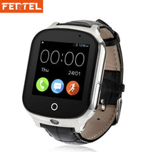 Load image into Gallery viewer, 3G GPS Watch for Kids Children Tracker Smartwatch With SIM Card WIFI SOS LBS Camera Health pedometer A19 Watchs