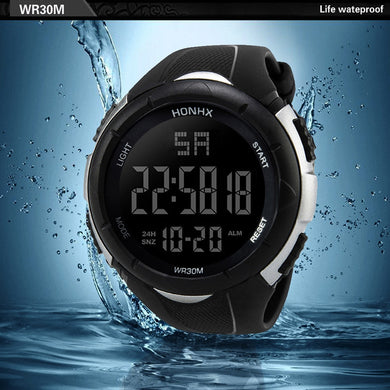 Luxury Men Analog Digital Military Army Sport LED Waterproof Wrist Watch Luminous wrist watch Luxury brands Business watch #20