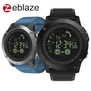 Zeblaze VIBE 3 Smart Sport Watch All-day Activity Record Sport 33 Month Long Standby Calorie Burn Tracking for iOS Android