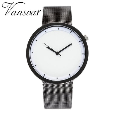 VANSVAR Watch relogio feminino Stainless Steel  Strap Fashion  Watches Women Luxury Brand  Women Watches  montre femme 18JUL12