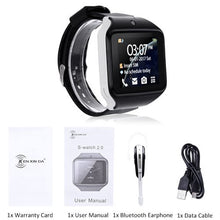 Load image into Gallery viewer, XGODY S2.0 Bluetooth Smart Watch Phone Call Smartwatch SIM TF Card 0.3MP Camera Men Women Wearable Devices for IOS Android