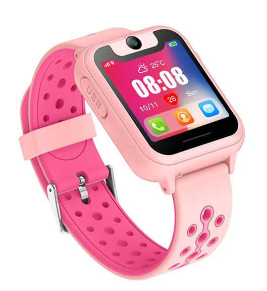 2019 New Smart Watch Locator Tracker Anti-Lost Safe SOS GPS Baby Watch Phone For IOS Android Kids Toy Gift