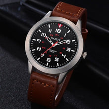 Load image into Gallery viewer, Male Fashion Pattern Quartz Watch Leather Strap Belt Watches watch men luxury mens watches top brand luxury 2018 Hours