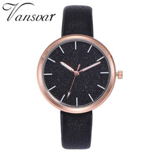 Load image into Gallery viewer, Women Watches Vansvar Fashion Mesh Watches Women's Watches Casual Quartz Analog Watches gift relogio feminino 2019