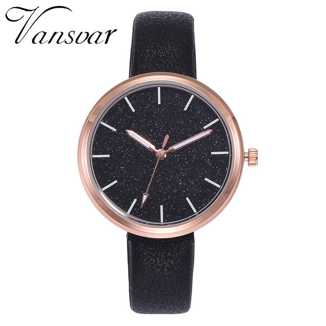 Women Watches Vansvar Fashion Mesh Watches Women's Watches Casual Quartz Analog Watches gift relogio feminino 2019