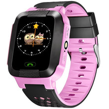 Load image into Gallery viewer, Hot Sale Child Smart Watch Kids LBS SOS Camera Wristwatch Waterproof Baby Watch With Remote Shutdown SIM Call Gifts For Children