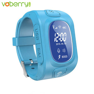 Voberry smart watch kids gps tracker watch phone for children with GPS/GSM/Wifi positioning phone Android&IOS Anti Lost