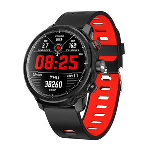 Microwear L5 Smart Watch Men IP68 Waterproof  Multiple Sports Heart Rate Monitor Weather Forecast Smart watch For iPhone Android