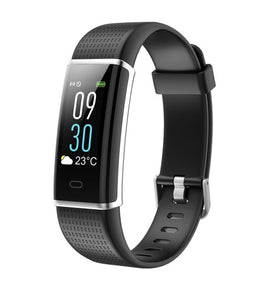 Bluetooth Smart Watch Color Smartband Heart Rate Monitor Blood Pressure Measurement Fitness Tracker Smart Watch Men