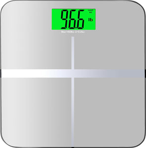 "BalanceFrom High Accuracy Premium Digital Bathroom Scale with 3.6"" Extra Large Backlight Display"