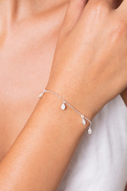 Rainfall June Bracelet Silver