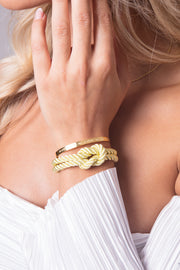 Dolce Vita Classic Gold &  Simplicity Bangle Beauty Gold