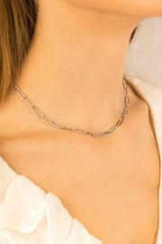 Joy Nelio Necklace Silver