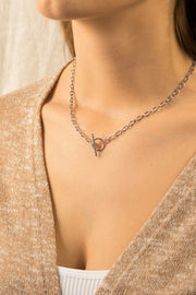 Joy Enora Necklace Silver
