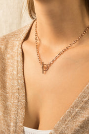 Joy Enora Necklace 18k Rose Gold Plated