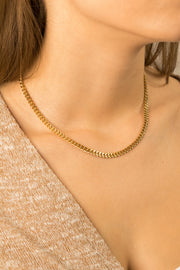 Joy Fidji Necklace 18k Gold Plated