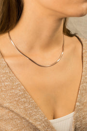 Simplicity Adelie Necklace 18k Rose Gold Plated
