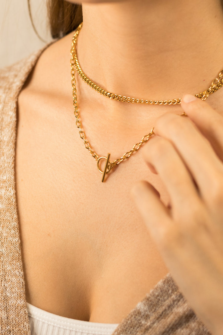 Joy Enora Necklace 18k Gold Plated