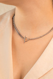 Joy Layna Necklace Silver