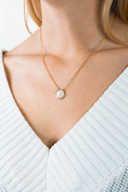 Shell Necklace Myra Gold