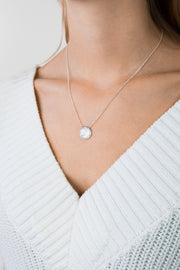 Shell Necklace Myra Silver