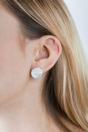 Shell Arielle Earrings Silver