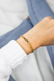 Simplicity Bangle Ario Gold