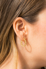 Simplicity Thalis Earrings Gold