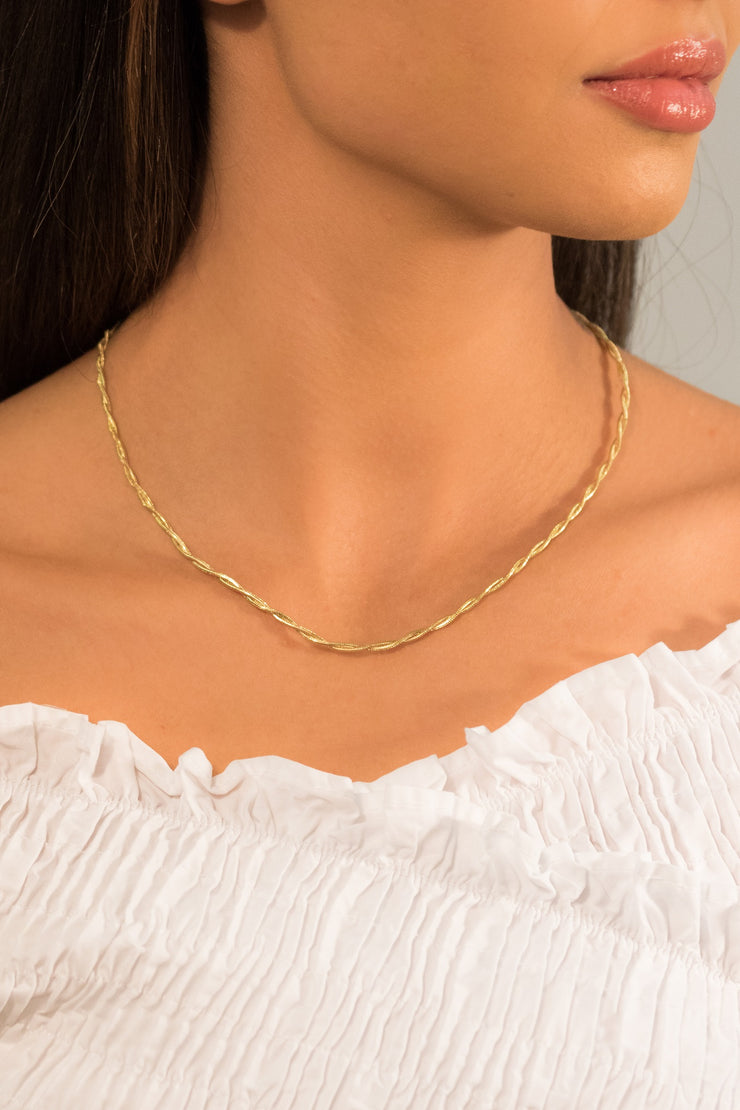Joy Ipso Necklace 18k Gold Plated