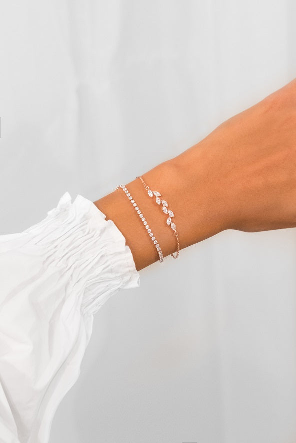 Rainfall Olena Bracelet 18k Rose Gold Plated