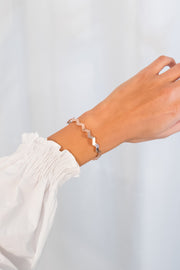 Simplicity Bangle Kacy 18k Rose Gold Plated