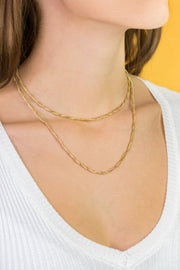 Izao & Ipso Necklaces Gold Set