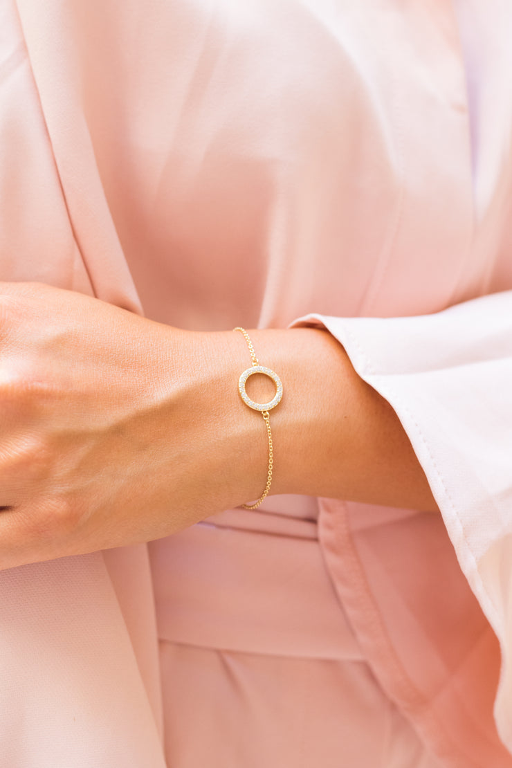 Eternity Soli Bracelet 18k Gold Plated