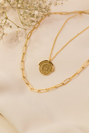 Joy Nelio Necklace 18k Gold Plated