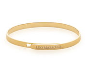 Simplicity Bangle Beauty 18k Gold Plated