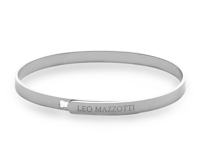 Simplicity Bangle Beauty Silver