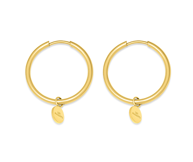 Iconic Muse Earrings 18k Gold Plated
