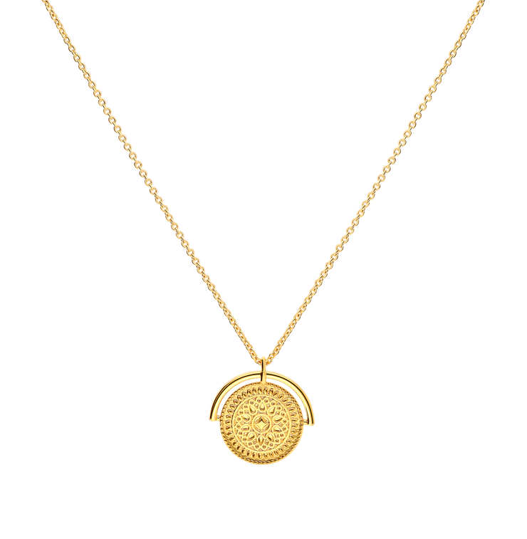 Joy Maya Necklace 18k Gold Plated
