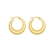 Simplicity Lexi Earrings 18k Gold Plated