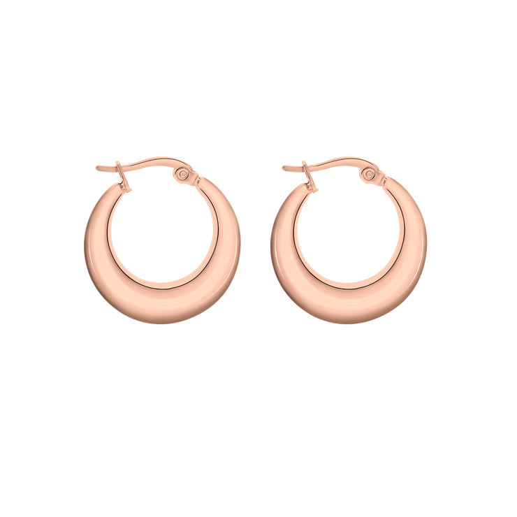 Simplicity Lexi Earrings 18k Rose Gold Plated